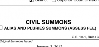 Civil Summons