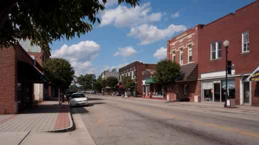 Downtown Zebulon North Carolina