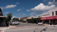 Downtown Wendell North Carolina